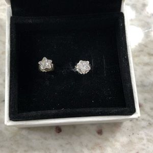 Pandora Star shine earrings